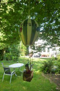 fliegend im Heißluftballon 'RETURN'